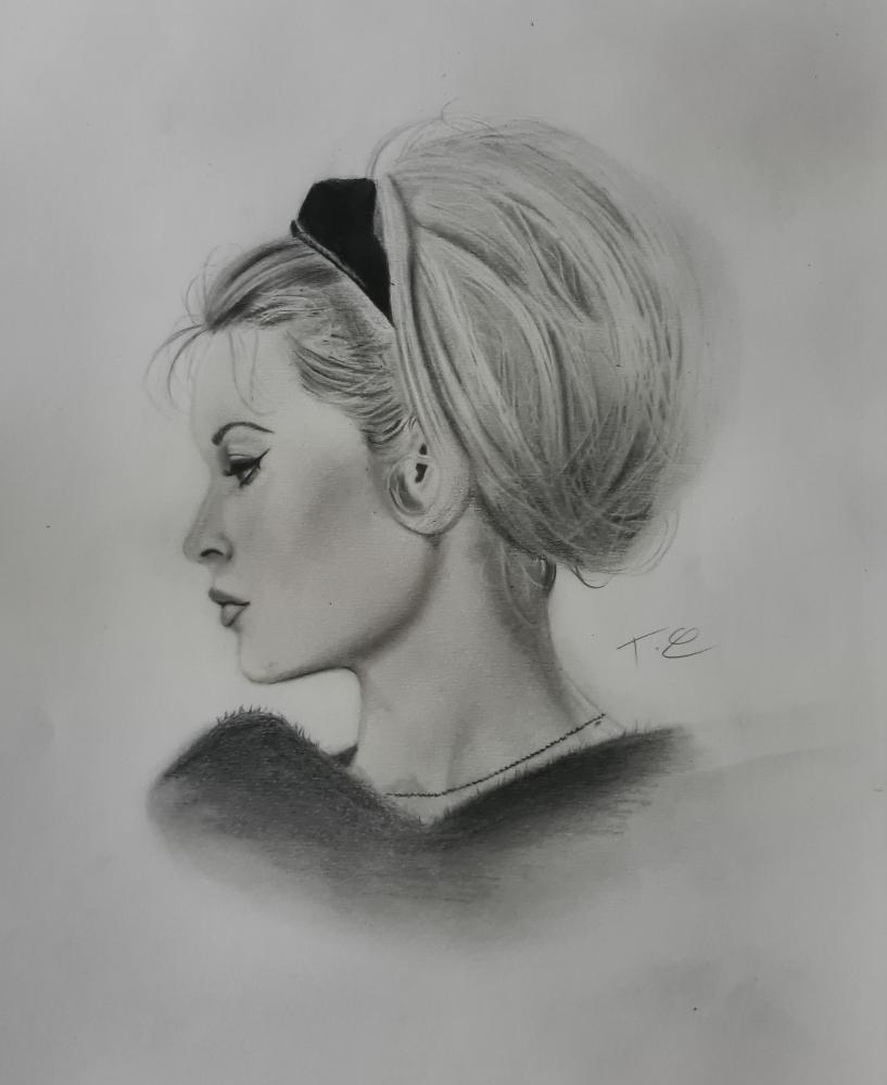 Brigitte Bardot por thomascdraw